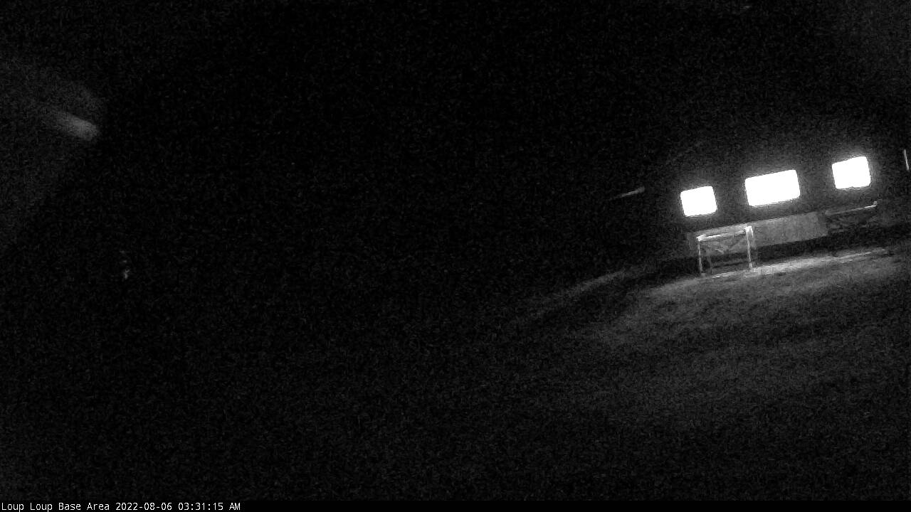 Ski The Loup • Mountain Webcam view from the Bottom (NOTE: If this view is missing, camera is temporarily offline)