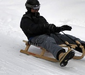 Loup Loup Bear Mountain Luge • Smiling Man Sledding