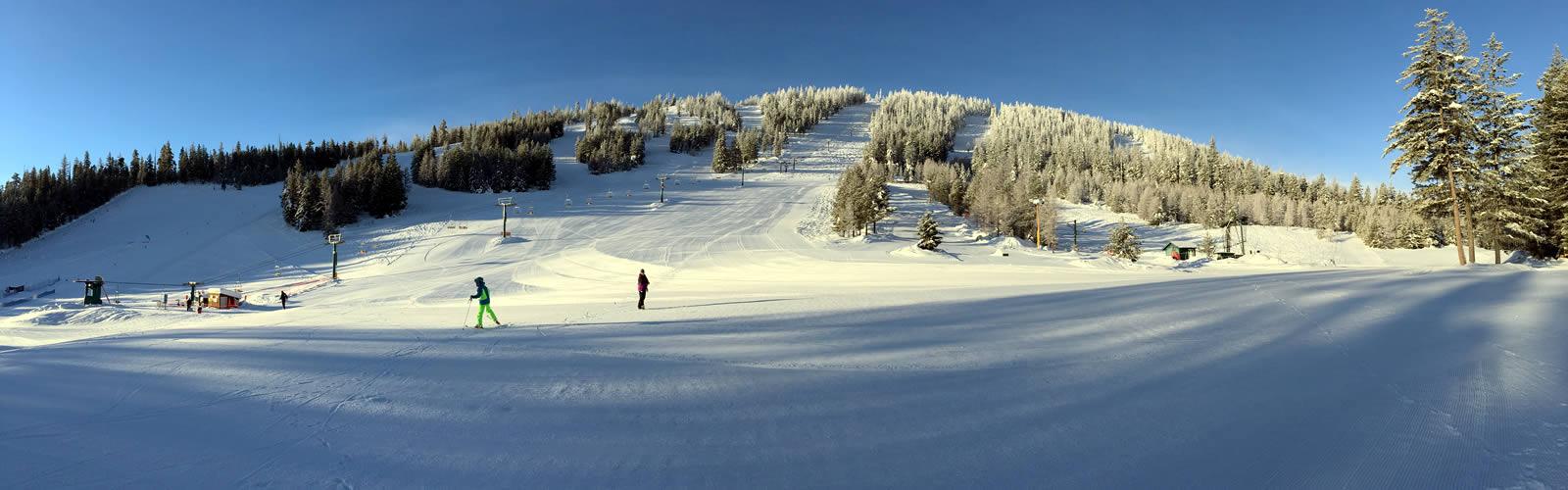 Loup Loup Ski Bowl View from the Base